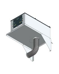 Wall Mount for Underbench Extraction Systems