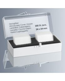 Square Coverslips - No. 1 Thickness