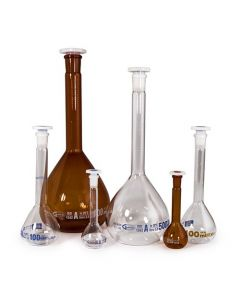 Volumetric Flasks - Clear or Amber