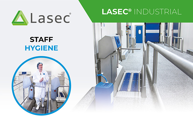 Introducing Elpress Hygiene Control from Lasec®. The Ultimate Staff Hygiene Solution.