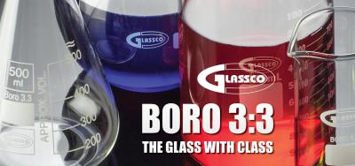Your lab deserves Borosilicate glass 3.3 glassware