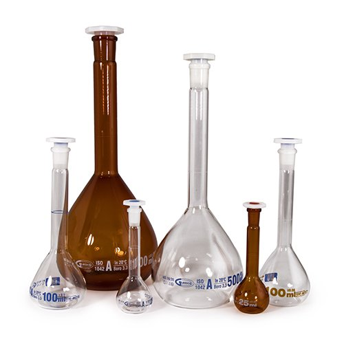 />Volumetric Flasks