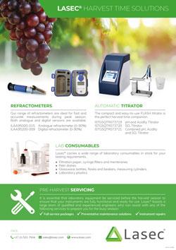 Lasec® Harvest Time Solutions Flyer