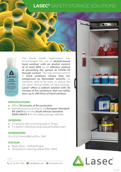 Lasec® Safety Storage Solutions