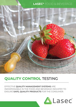 Lasec® Food and Beverage QC Testing Catalogue