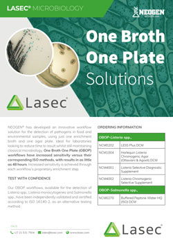 One Broth, One Plate Solutions From Lasec®