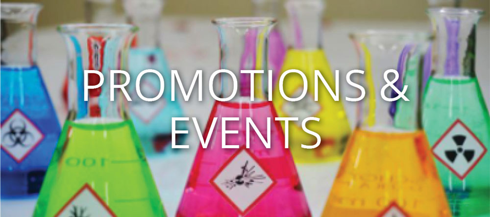 Click to See Promotions & Events